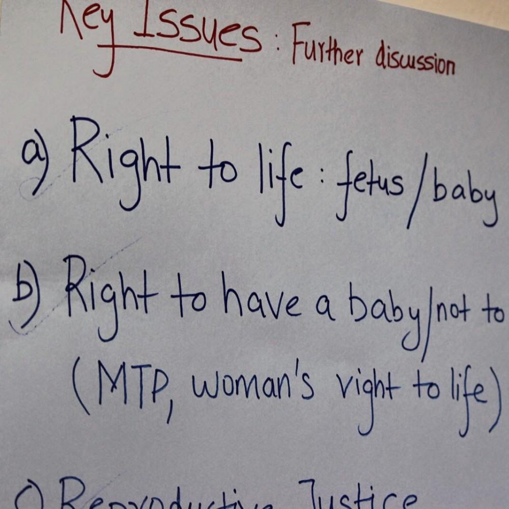 Abortion - Institute Discussion