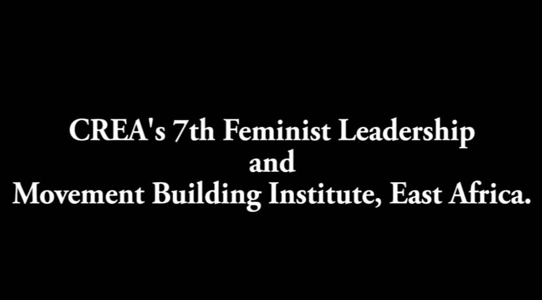 Feminist Leadership, Movement Building And Rights Institute–Nairobi, 2016