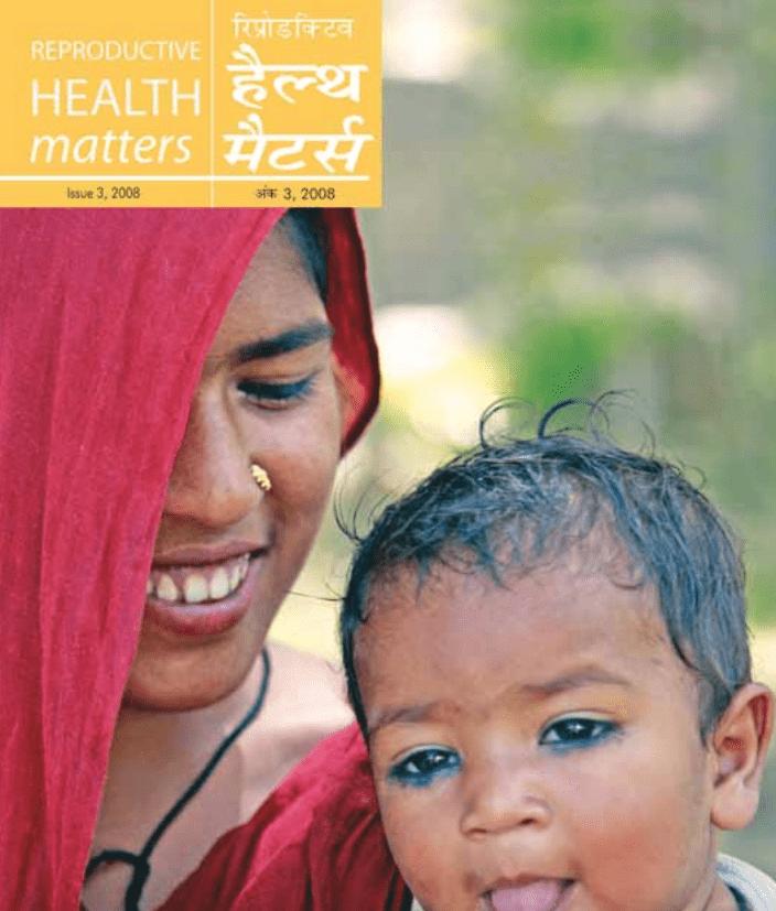 SRHM Issue 3 2008 Matr Mrityu Avam Rugnata